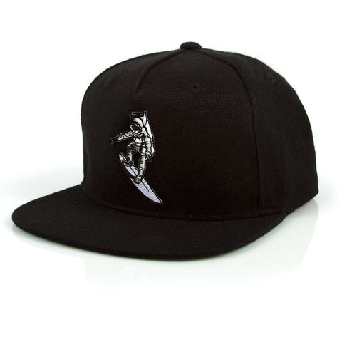 Imaginary Foundation - Astrosurfer Snapback, Black