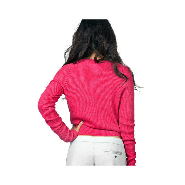 Married to the Mob - Audrey Women's Cardigan Sweater, Fuchsia - The Giant Peach