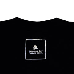 Handsome Boy Modeling School - I'm With Handsome Men's Shirt, Black - The Giant Peach - 3