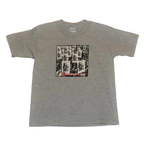 Deltron 3030 Youth Medium Shirt, Heather Grey