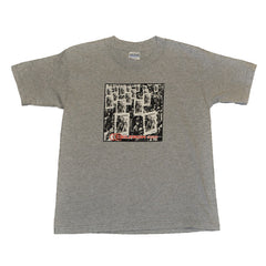 Deltron 3030 Youth Medium Shirt, Heather Grey - The Giant Peach