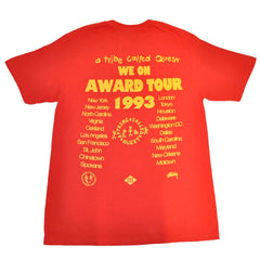 Stussy x A Tribe Called Quest - Award Tour Men's Tee, Red - The Giant Peach - 2