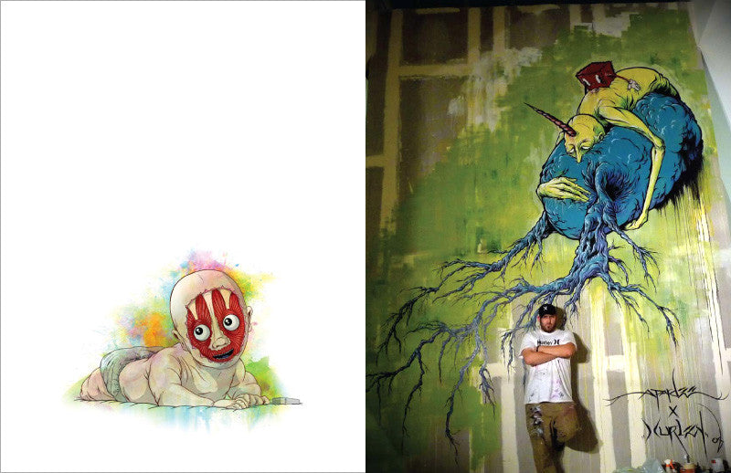 Awful Resilient - The Art of Alex Pardee, Hardcover - The Giant Peach - 2