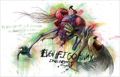 Awful Resilient - The Art of Alex Pardee, Hardcover - The Giant Peach - 3