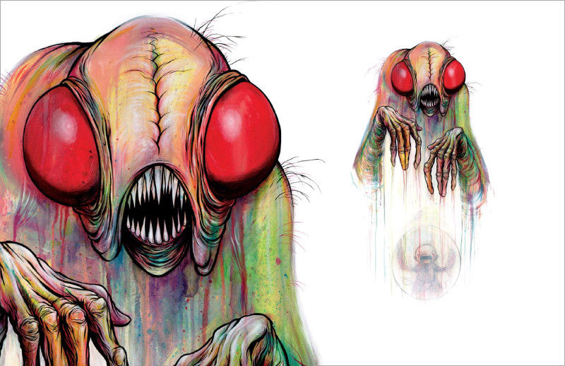 Awful Resilient - The Art of Alex Pardee, Hardcover - The Giant Peach - 4