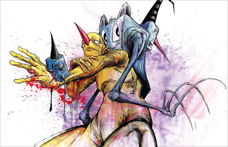 Awful Resilient - The Art of Alex Pardee, Hardcover - The Giant Peach - 7
