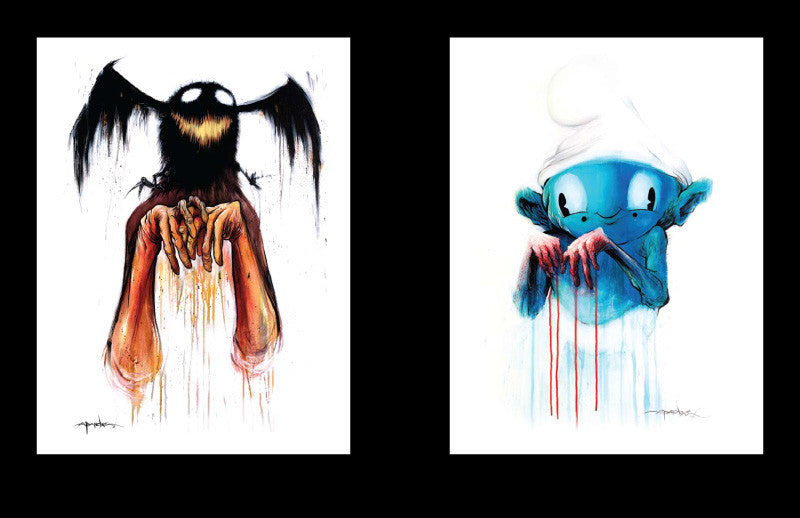 Awful Resilient - The Art of Alex Pardee, Hardcover - The Giant Peach - 9