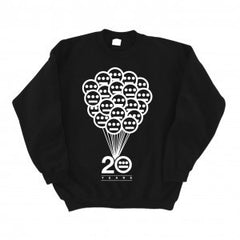 Hieroglyphics - Balloons Crewneck Sweatshirt, Black - The Giant Peach