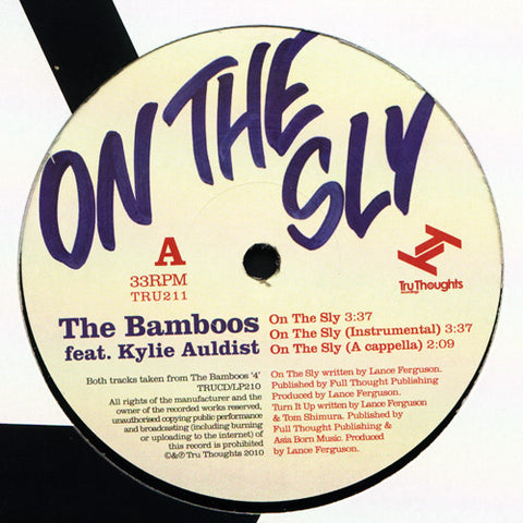 "The Bamboos - On The Sly, 12"" Vinyl"