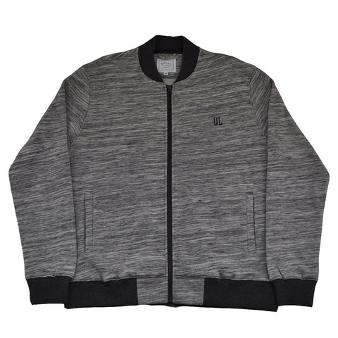 The Quiet Life - Banks Men's Coach Jacket, Charcoal