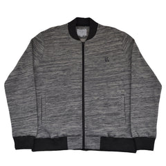 The Quiet Life - Banks Men's Coach Jacket, Charcoal - The Giant Peach