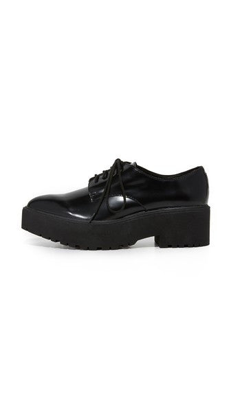 Jeffrey Campbell - Bardem Platform Oxfords, Black Box