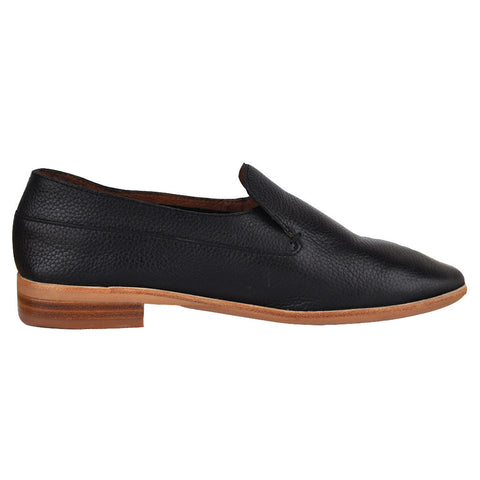 Jeffrey Campbell - Barkley 3 Loafer, Black Pebble - The Giant Peach