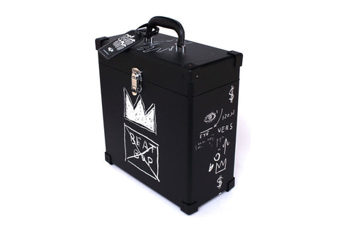 Beat Bop Record Box featuring artwork by Basquiat