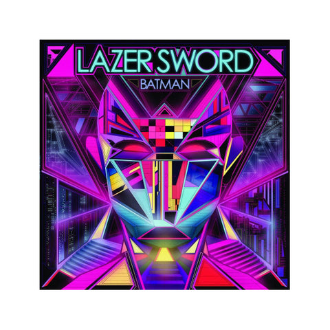 "Lazer Sword - Batman / I'm Gone, 12"" Vinyl"