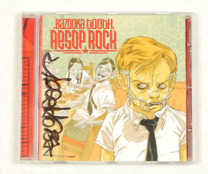 Aesop Rock - Bazooka Tooth, CD (autographed) - The Giant Peach