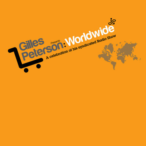 Gilles Petersen- Worldwide 2xLP Vinyl