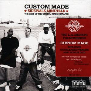 Custom Made - Sidewalk Mindtalk, CD+DVD