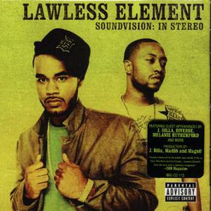 Lawless Element - Soundvision: In Stereo, CD - The Giant Peach
