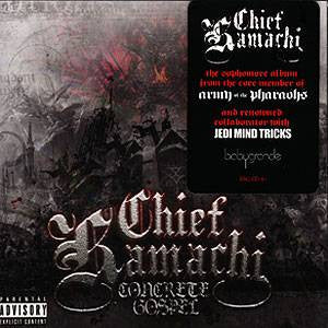 Chief Kamachi - Concrete Gospel, 2xLP Vinyl - The Giant Peach