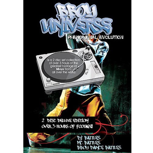 BBoy Universe: Phenomenal Evolution, DVD (2-Disc) - The Giant Peach