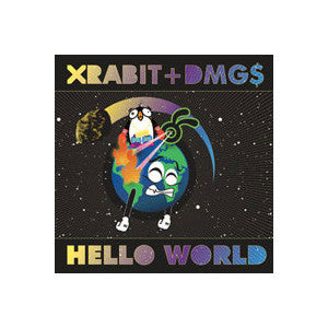 Xrabit & DMG$ - Hello World, CD - The Giant Peach