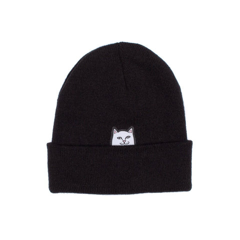 RIPNDIP - Lord Nermal Men's Beanie, Black Slub
