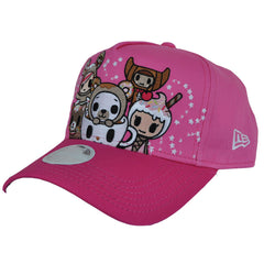 tokidoki - Bearnut Snapback Hat, Pink - The Giant Peach