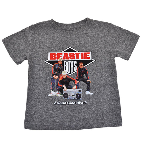Beastie Boys - Solid Gold Hits Toddler Tee, Heather Grey