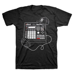 J Dilla - Beat Machine Men's Shirt, Black - The Giant Peach