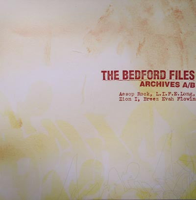 "The Bedford Files - Archives A/B, 12"" Vinyl - The Giant Peach"