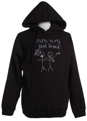 Murs - Is My Best Friend Hoodie, Black - The Giant Peach