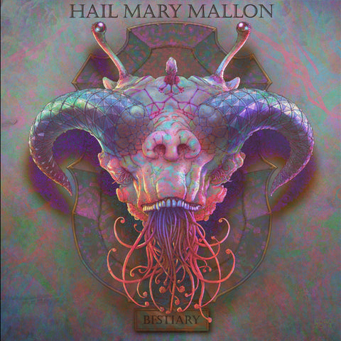 Hail Mary Mallon - Bestiary, CD (Beza Artwork)