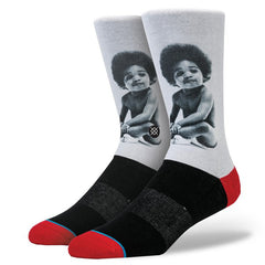 Stance x Biggie - Ready to Die Men's Socks, Black - The Giant Peach