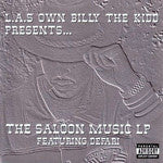 L.A.'S Own Billy The Kidd Presents, The Saloon Music LP, 2XLP Vinyl