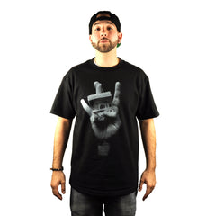 594 x Bio594 - Westside Hustlers Men's Shirt, Black - The Giant Peach