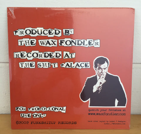 Wax Fondler - Bitch Slapped Breaks, LP Vinyl