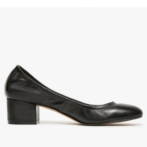 Jeffrey Campbell - Bitsie Heels, Black Leather - The Giant Peach