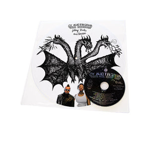 "CX Kidtronik - Black Girl White Girl/Wild Kingdom, Limited Edition 12"" Vinyl + CD - The Giant Peach"