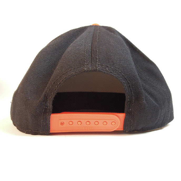 Hieroglyphics - Snapback Hat, Black/Orange - The Giant Peach - 2