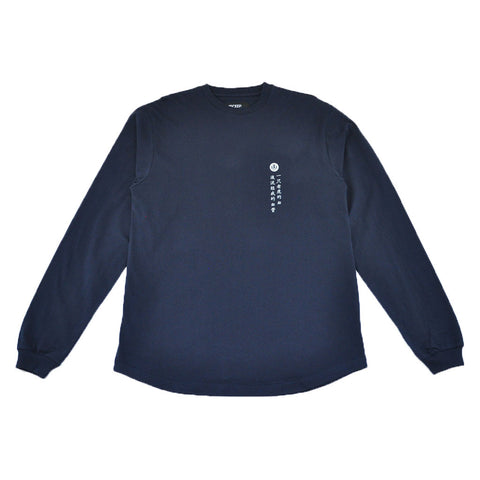 10Deep - Blood Chit Men's L/S Tee, Navy