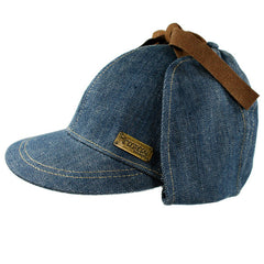 Imaginary Foundation - Sherlock Homie Hat, Indigo Denim - The Giant Peach