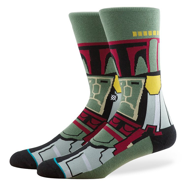 Stance - Boba Fett Men's Socks, Green - The Giant Peach