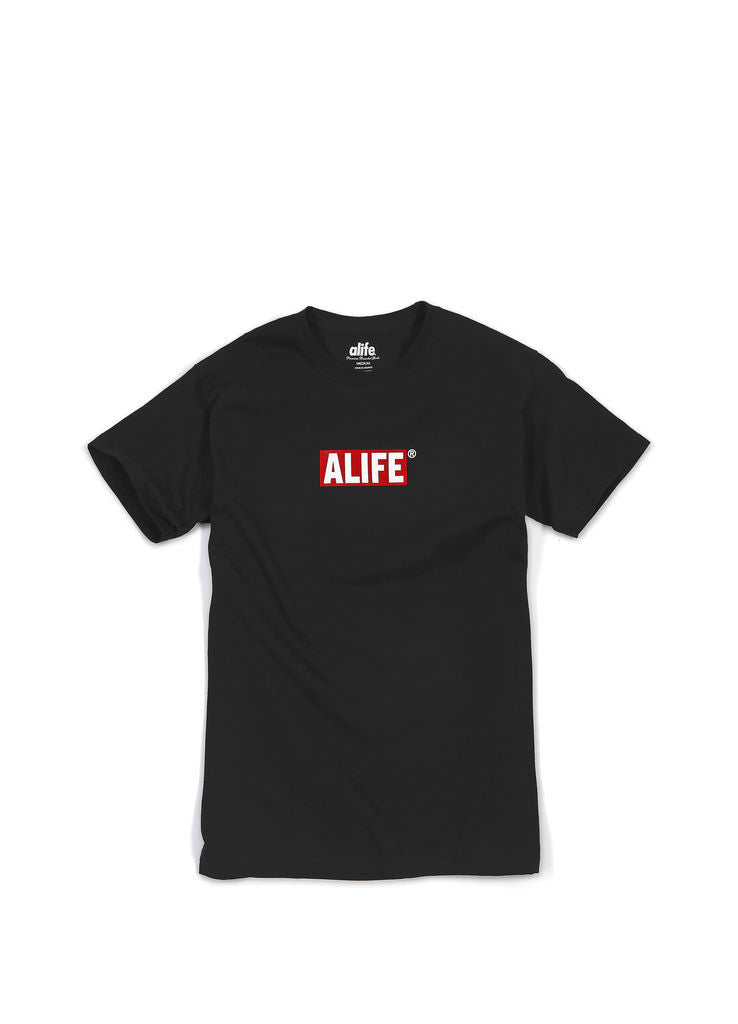 Alife - Box Life Men's Shirt, Black - The Giant Peach