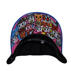 tokidoki - Breakfast Buds Snapback Hat, Black - The Giant Peach