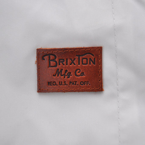 Brixton - Claxton Men's Windbreaker Jacket, Bone