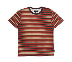 Brixton - Clove Men's S/S Knit Tee, Burgundy - The Giant Peach