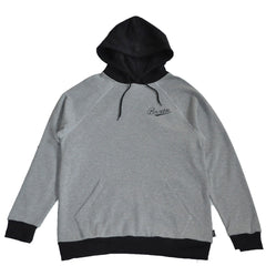 Brixton - Fenway Men's Hood Fleece, Heather Grey/Black - The Giant Peach