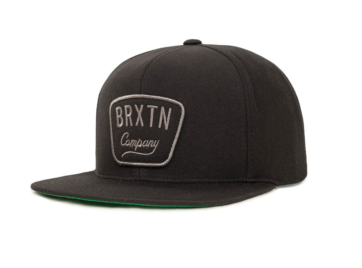 Brixton - Gaston Men's Snapback, Black - The Giant Peach