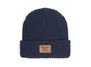 Brixton - Grade Beanie, Indigo - The Giant Peach